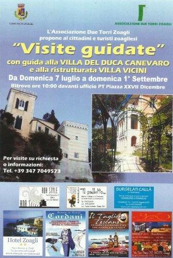 """Guarda questa foto sull'evento Visite guidate a """"Villa Vicini"""" a Zoagli"""